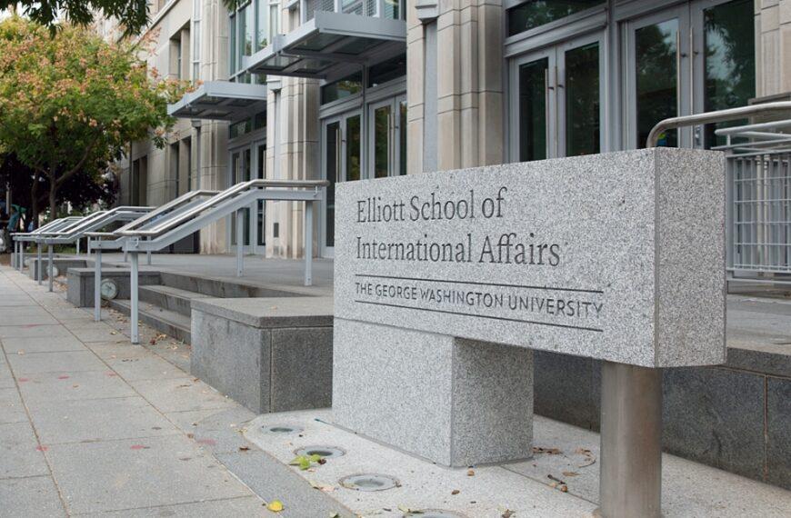 US-China Education Trust Moves to George Washington University
